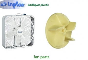Fan plastic part